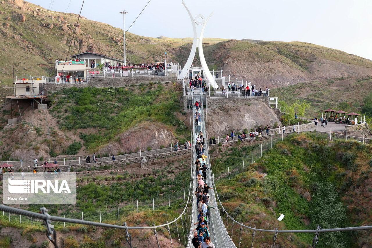 پل شیشه ای هیر اردبیل پل شیشه ای هیر ، اولین پل شیشه ای قوسی جهان
