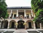 باغ انجمن خوشنویسان و تندیس معروف هیچ