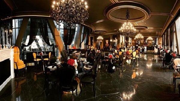 رستوران کاخ چهلستون تهران