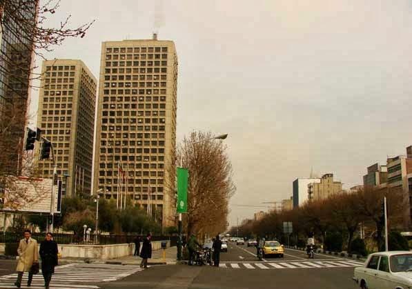 اولین برج مسکونی تهران