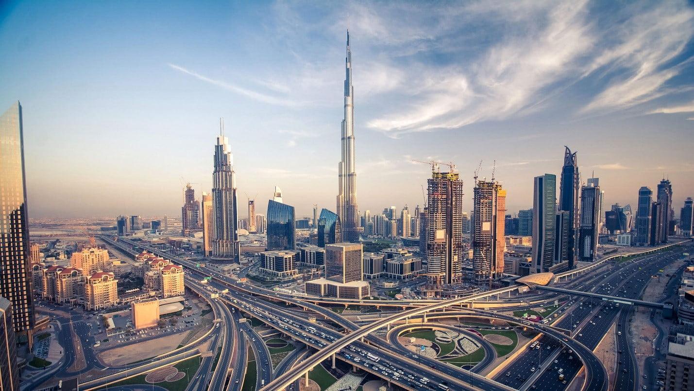 دبی شهر آسمان خراشها