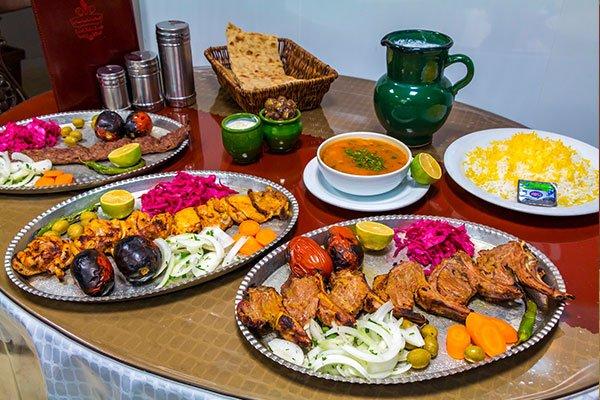 رستوران کباب ناب بناب تهران