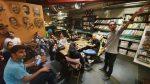 کافه کتاب خانه فرهنگ ایران