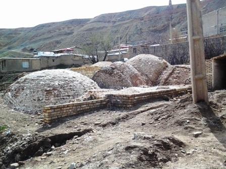 حمام تاریخی روستای خوئین
