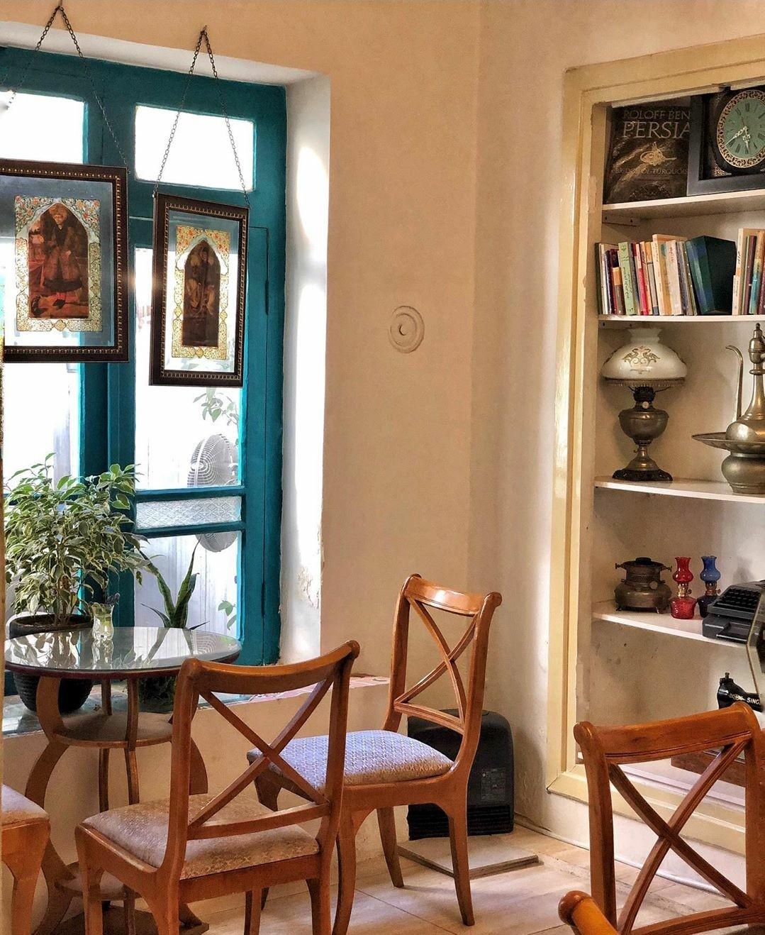 کافه کتاب رف
