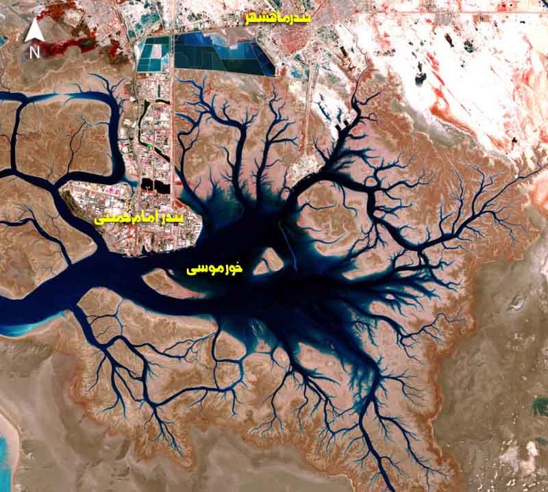 جزیره خور موسی
