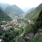 روستایی که کوچههایش با جاجیم مزین شده