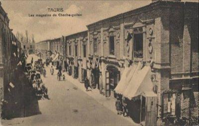 محله ششگلان تبریز