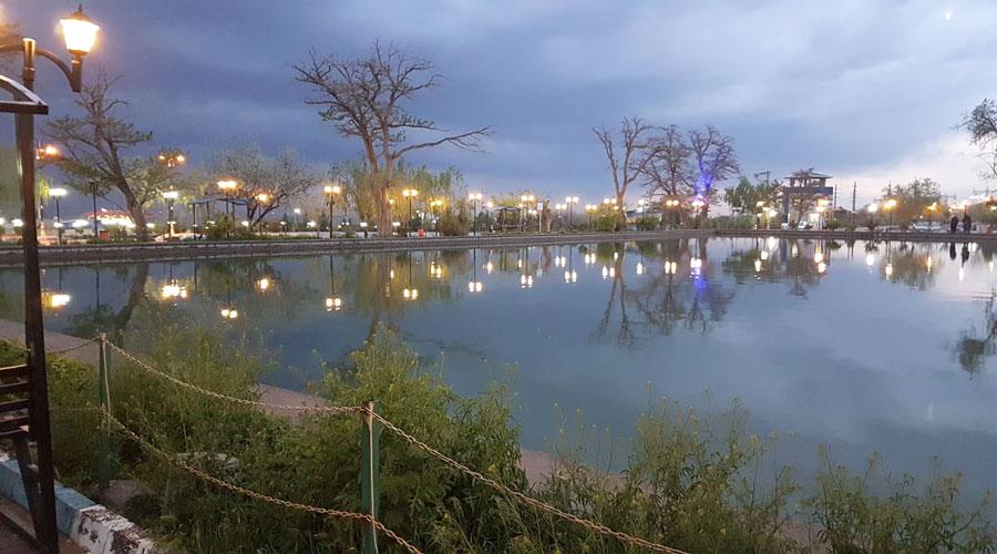 پارک بزرگ ایرینجی ممقان