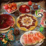 طرز تهیه کیک های مخصوص شب یلدا
