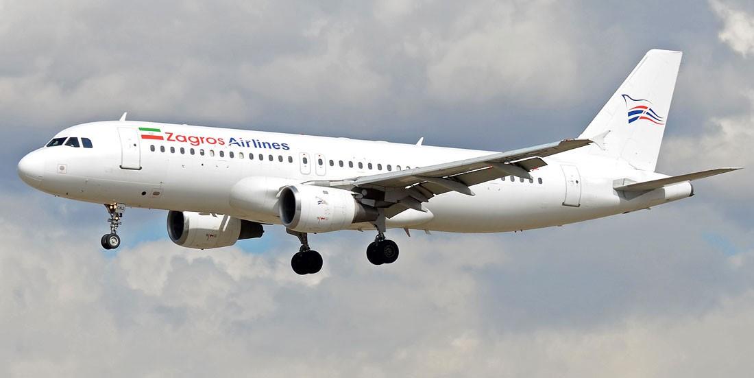 معرفی شرکت هواپیمایی زاگرس
