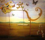 اثر اصلی سالوادور دالی در موزه سعدآباد