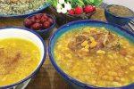 طرز تهیه گوشت لوبیاب ، غذای نذری کاشان