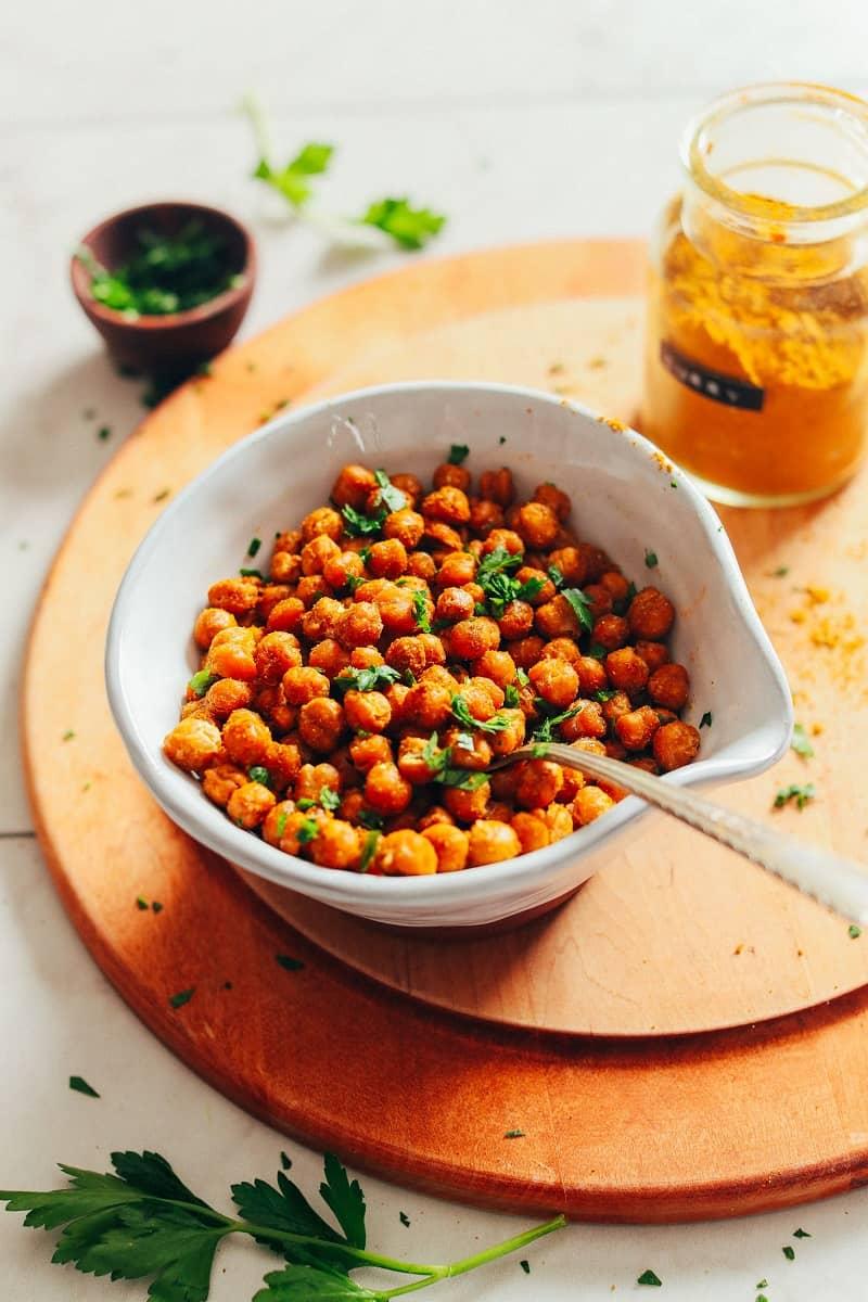خوراکیهای جدید با نخود