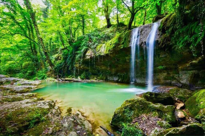 هفت آبشار سوادکوه