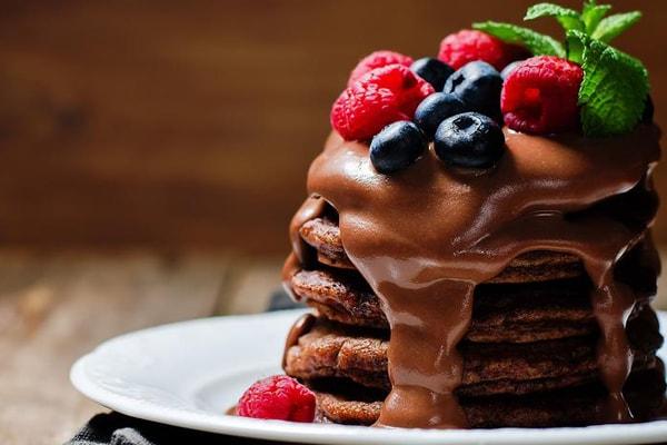 پنکیک شکلاتی