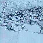 « سرآقا سید » ماسولهای در حصار برف