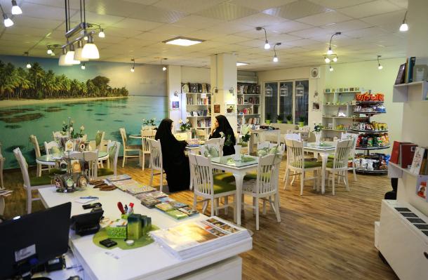 کافه مخصوص بانوان در تهران