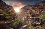 دره ها و سنگ تراشه های طبیعی ایران