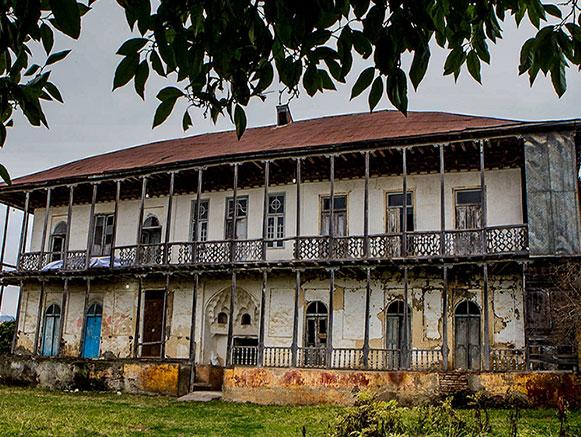 خانه امان الله خان ساسانی گیلان