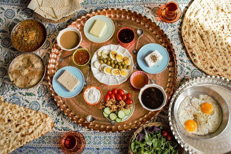 غذاهای مخصوص رمضان