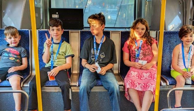 مشکلات کودکان در اتوبوس