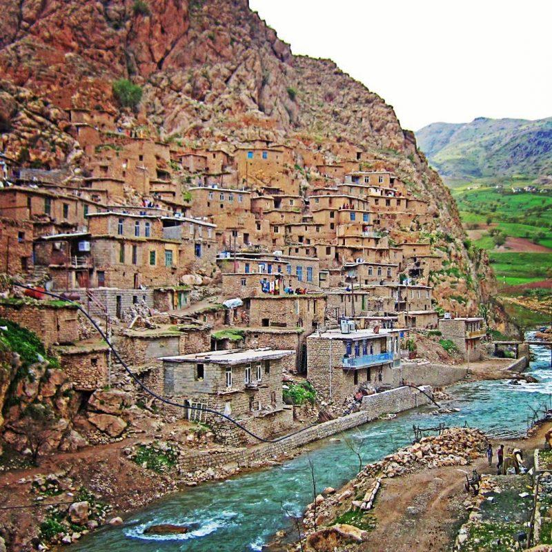 روستاهای پلکانی ایران