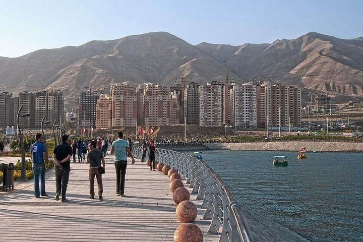 پیاده روی در تهران