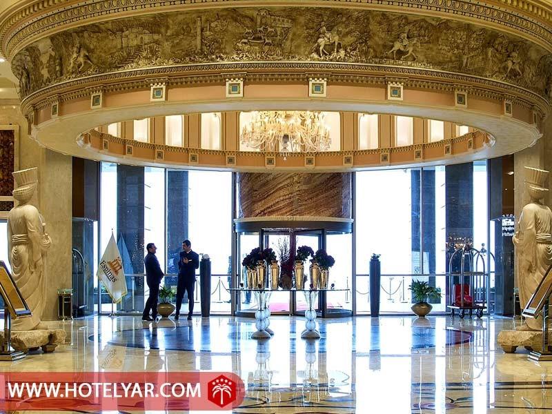 لابی هتل 5 ستاره اسپیناس پالاس تهران