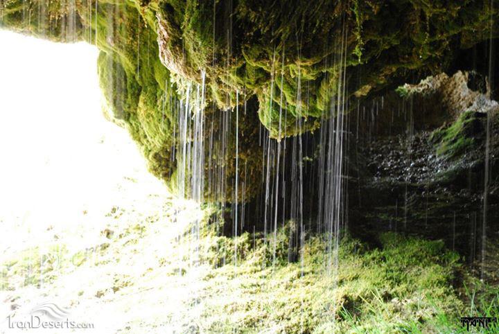 آبشار دامجی قیه مرند
