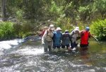 مهارت عبور از رودخانه در طبیعت گردی