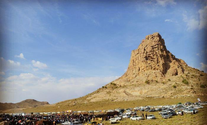 قلعه خال کوه سیرجان