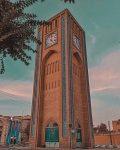 وقت الساعت یزد ، اولین ساعت شهری ایران