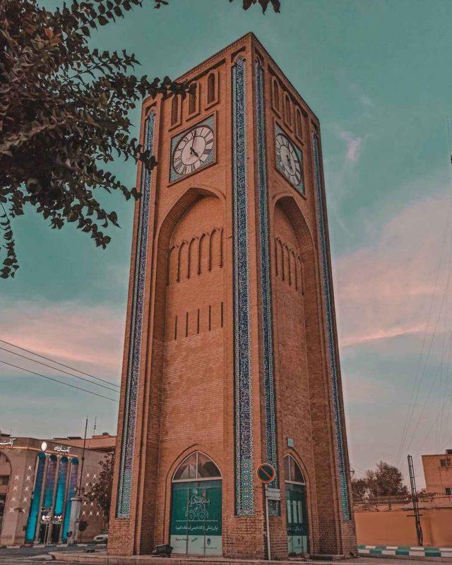 وقت الساعت یزد