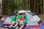 چگونه همراه با نوزادان در طبیعت کمپ بزنیم ؟