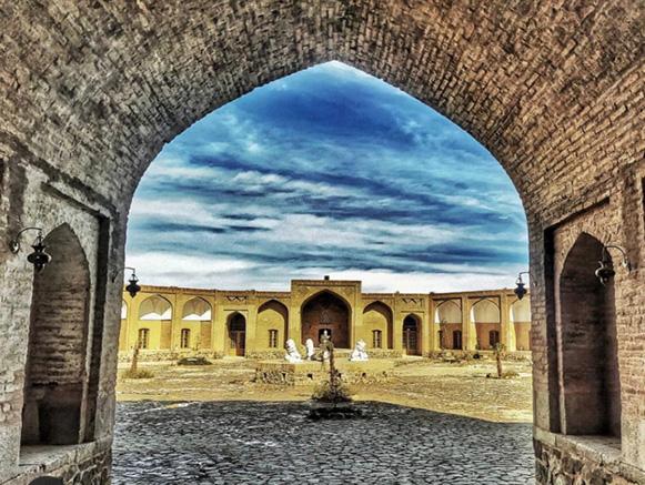 کاروانسرای امین آباد